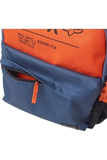 Fox mochila Non Stop Legacy blue steel azul naranja (5)