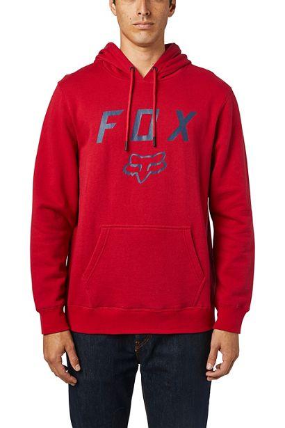 Fox sudadera Legacy Moth roja chilli sanse (4)