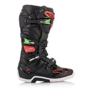 alpienestars botas tech 7 negra roja verde (3)