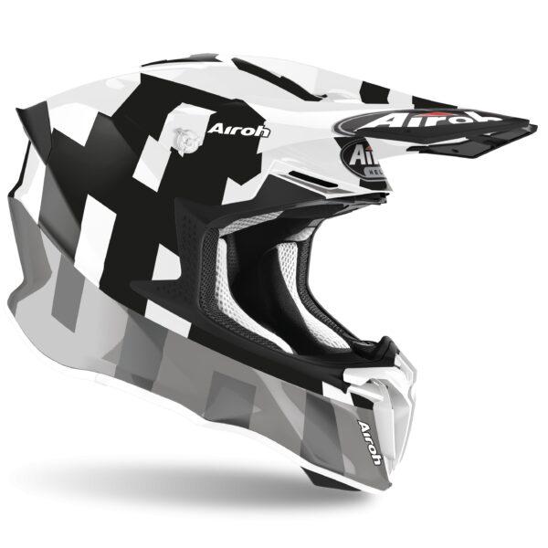 barato casco twist frame negro