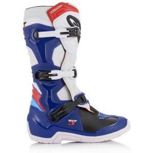 botas alpinestars motocross enduro tech 3 azul rojo blanco (1)