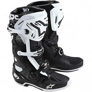 botas alpinestars tech 10 blanca negra cross country madrid (1)