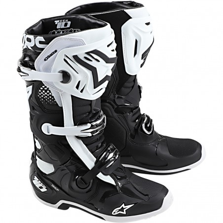 botas alpinestars tech 10 blanca negra cross country madrid (1)
