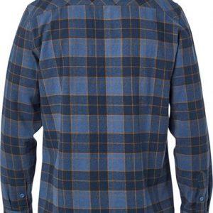 camisa Fox franela Traildust 2 0 azul outlet (3)