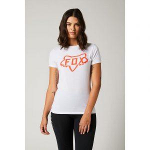 camiseta fox mujer chica Division Tech blanca rebajada (2)