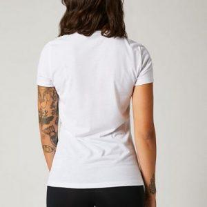 camiseta fox mujer chica Division Tech blanca rebajada (3)