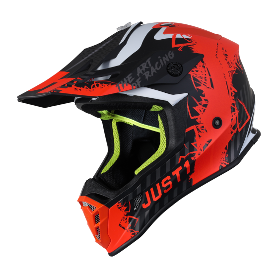 outlet moto casco just1 j38 naranja