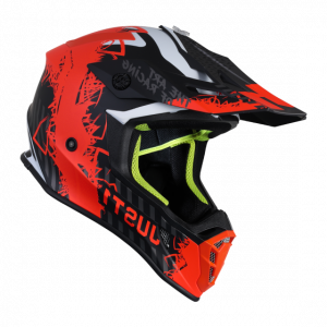 casco just1 j38 naranja