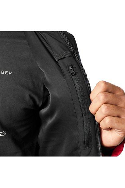 chaqueta Fox Harrison negra roja granate mx enduro mtb (1)