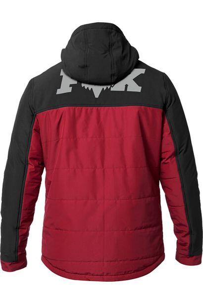 chaqueta Fox Harrison negra roja granate mx enduro mtb (3)