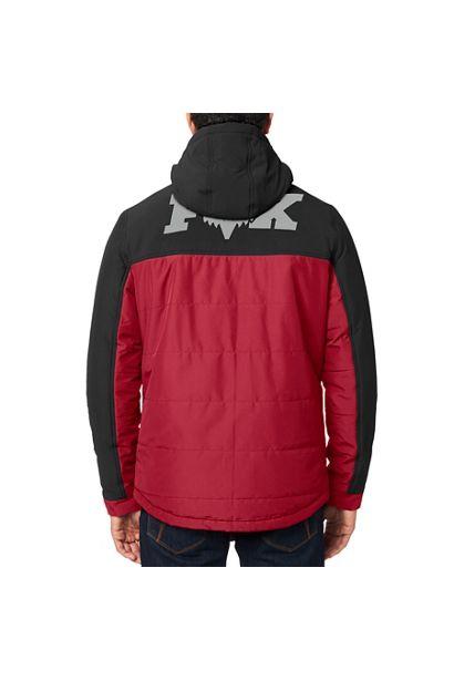 chaqueta Fox Harrison negra roja granate mx enduro mtb (5)