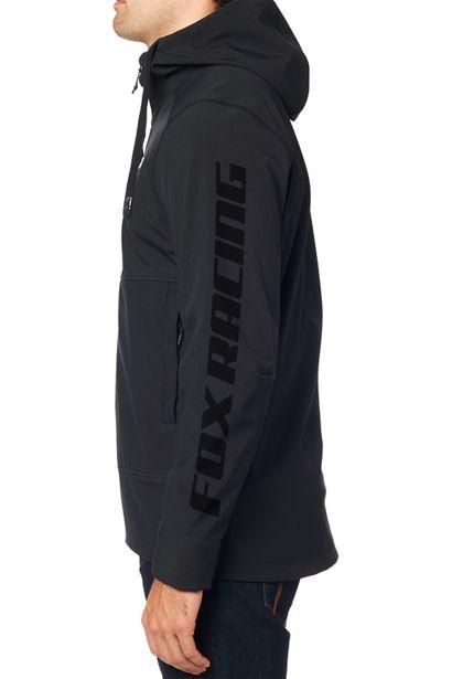 chaqueta fox Pit shoftshell negra crosscountry shop (1)