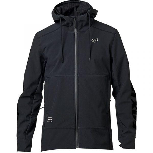 chaqueta fox Pit shoftshell negra crosscountry shop (2)