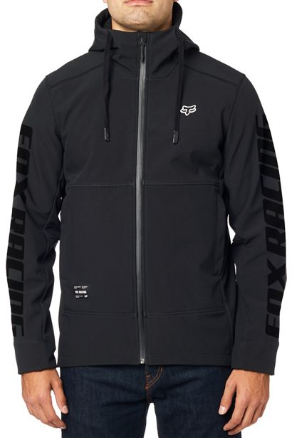 chaqueta fox Pit shoftshell negra crosscountry shop (4)