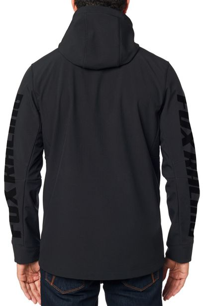 chaqueta fox Pit shoftshell negra crosscountry shop (5)