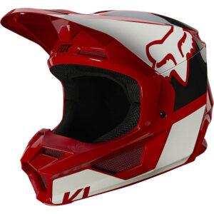 comprar casco fox v1 revn rojo (2)
