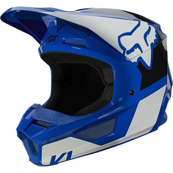 comprar enduro motocrosscasco fox v1 revn azul (2)