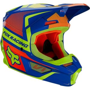 comprar madrid Casco fox v1 oktiv azul (2)