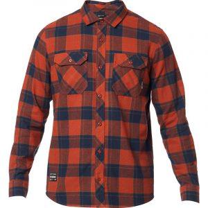 fox camisa traildust 2 0 franela adobe (2)