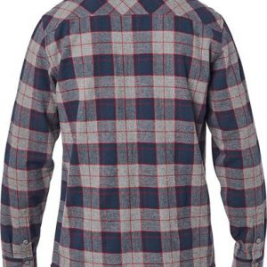 fox camisa traildust 2 0 franela gris barata (3)