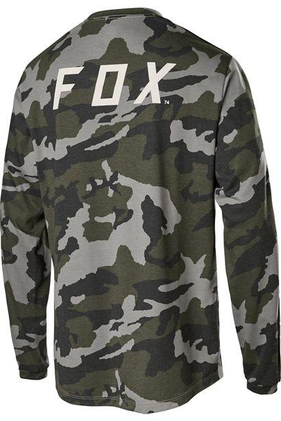 fox camiseta Ranger DR FOXHEAD ls camo enduro dh trail (3)