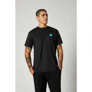 fox camiseta basica Mawrl negra sanse madrid (2)
