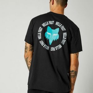fox camiseta basica Mawrl negra sanse madrid (3)