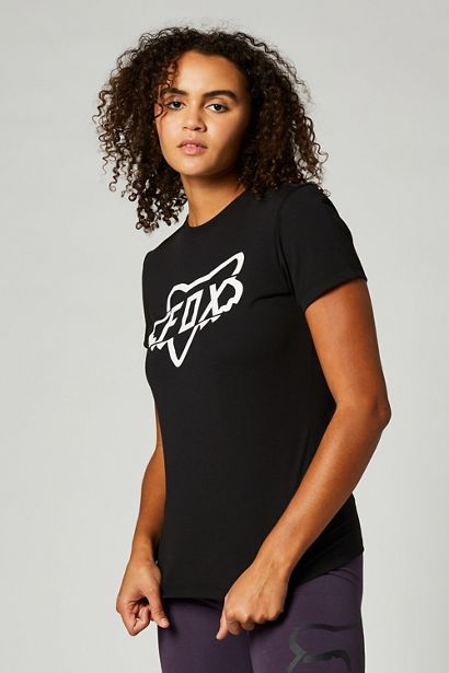 fox camiseta mujer chica DIvision negra crosscountry madrid shop (1)