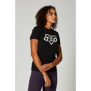 fox camiseta mujer chica DIvision negra crosscountry madrid shop (2)