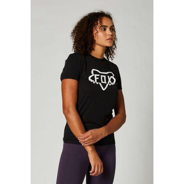 fox camiseta mujer chica DIvision negra crosscountry madrid shop (2)