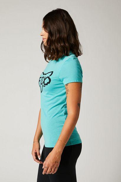 fox camiseta mujer chica Division Tech azul teal mx enduro mtb moto quad (1)