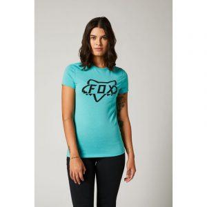 fox camiseta mujer chica Division Tech azul teal mx enduro mtb moto quad (2)