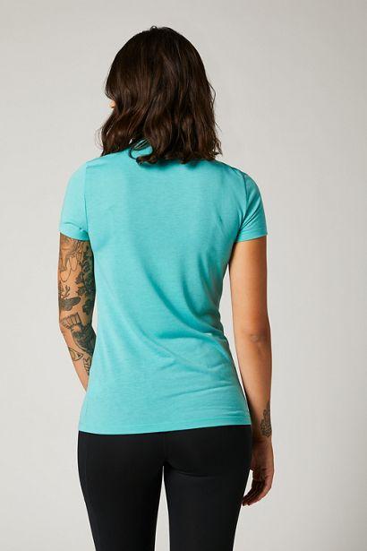 fox camiseta mujer chica Division Tech azul teal mx enduro mtb moto quad (3)