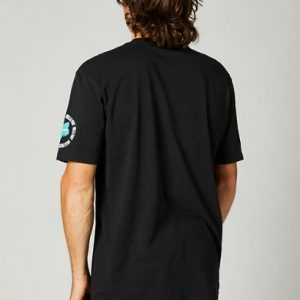 fox camiseta premium Mawrl negra (3)