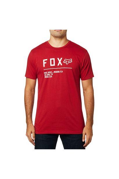 fox camiseta premium Non Stop cardinal roja outlet madrid (1)
