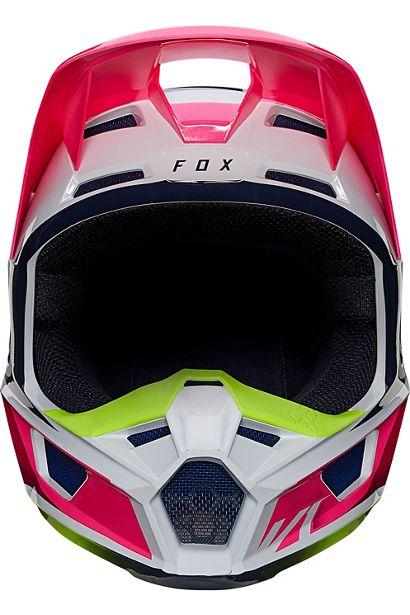 fox casco mx enduro V1 Tro flou yellow rosa crosscountry madrid (1)