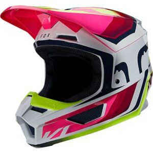 fox casco mx enduro V1 Tro flou yellow rosa crosscountry madrid (3)