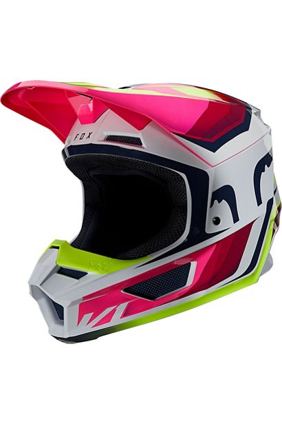 fox casco mx enduro V1 Tro flou yellow rosa crosscountry madrid (3)