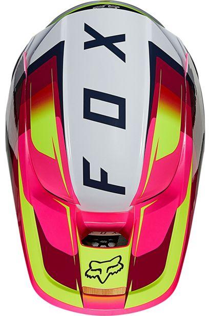 fox casco mx enduro V1 Tro flou yellow rosa crosscountry madrid (4)