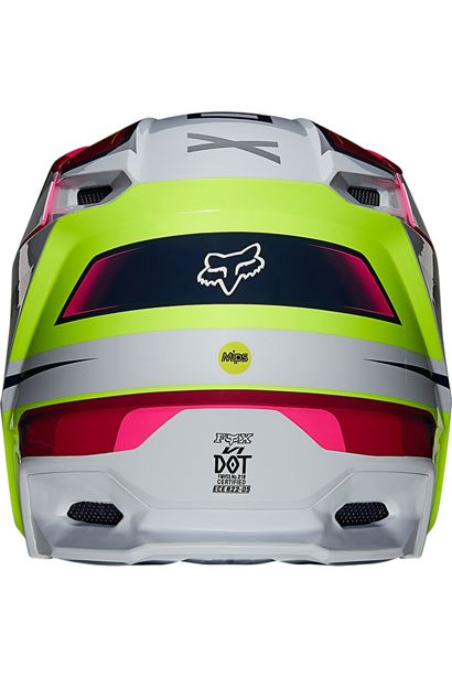fox casco mx enduro V1 Tro flou yellow rosa crosscountry madrid (5)