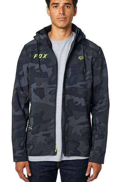 fox chaqueta Pit shoftshell negra camo outlet fox (1)
