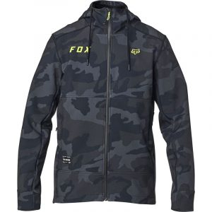 fox chaqueta Pit shoftshell negra camo outlet fox (2)