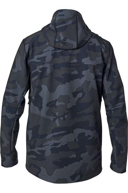 fox chaqueta Pit shoftshell negra camo outlet fox (3)