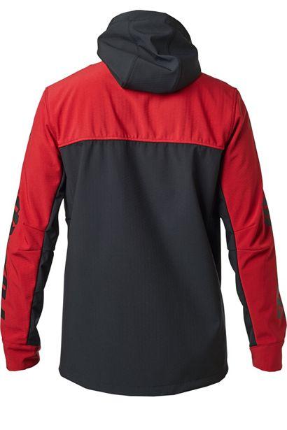fox chaqueta Pit shoftshell roja motocross enduro (3)