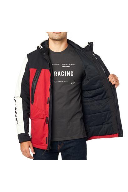 fox chaqueta arlington negra roja rebajas (1)