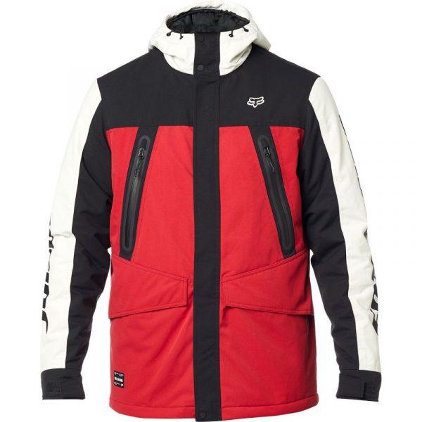 fox chaqueta arlington negra roja rebajas (2)
