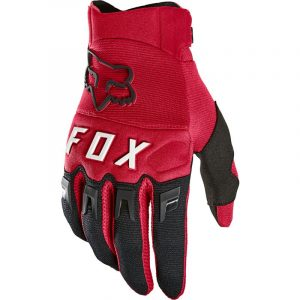 fox guante dirtpaw rojo