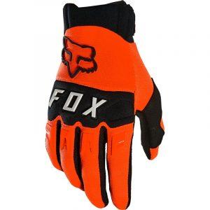 moto barato madrid guantes dirtpaw fox naranja