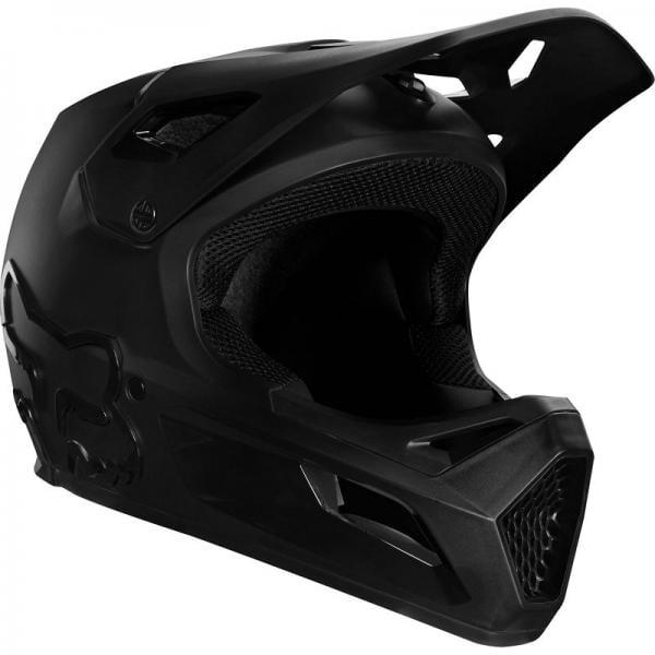 fox mtb casco rampage barato negro negro