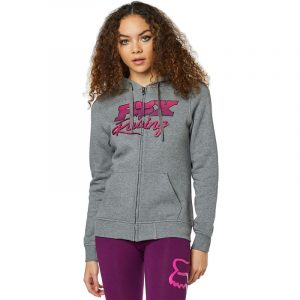 fox sudadera mujer Qualifier gris rosa chica women outlet rebajada (2)